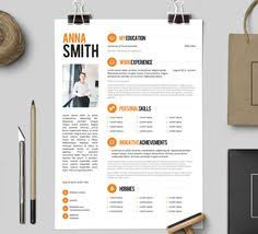 resume template no 3 free cover letter instant download creative resume templates word free download