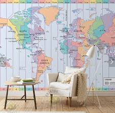 zones bedroom wallpaper: zone wallpaper custom photo font b wallpaper b font world time font b zone b font map d
