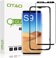 Galaxy S9 Screen Protector Tempered Glass, [Update ... - Amazon.com