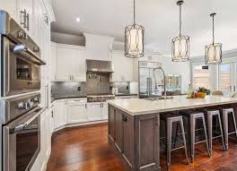island design ideas designlens extended: great pendant lights over the kitchen island