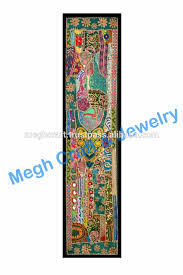 Small Picture Ethnic Indian Wall Hanging Cotton Embroidered Tapestries wholesale