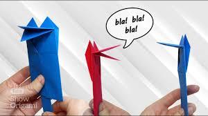 <b>Веселая</b> говорящая <b>игрушка</b> из бумаги - YouTube