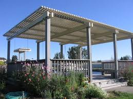 patio cover composite panel visit the galleries of custom patio covers butte fence has built you c