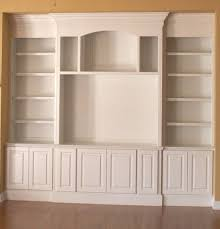 plans built wall white cabinets