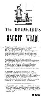 the drunkard s raggit wean broadside culture and the politics of agrandir