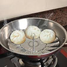 <b>Creative Magnetic</b> Kitchen Stainless Steel Plate Folding High Buns ...