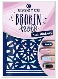 """<b>Наклейки</b> для дизайна <b>ногтей</b> """"<b>Broken</b> Holo"""" тон: 12 Essence ..."""