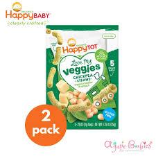 [Bundle Of 2] <b>Happy Baby</b> Happy Family HT LMV Chickpea Straws ...