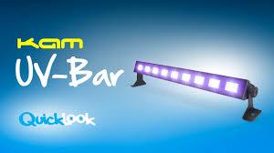 Kam <b>UV</b>-Bar - Quick Look at the affordable <b>ultraviolet light</b> bar ...