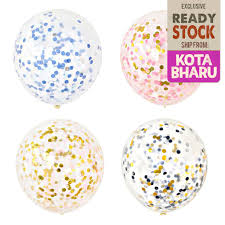 1 pc 12inch Mixed Small Confetti <b>1cm Colors Transparent</b> Balloons ...