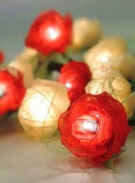 beautiful lighting design for home decorative string lights by om gallery flower rose red beautiful lighting