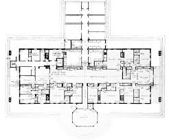 Third Floor   White House MuseumThird floor plan of the White House in  Truman Library   Report of the CREM