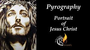 pyrography project 84 - <b>Portrait</b> of <b>Jesus Christ</b> - YouTube