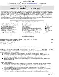 Click Here to Download this Telephone Banking Sales Specialist Resume Template  http    Pinterest