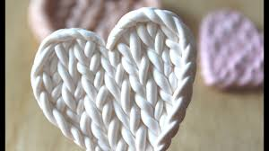 Faux <b>Knitted Pattern</b>: Polymer Clay Tutorial - YouTube