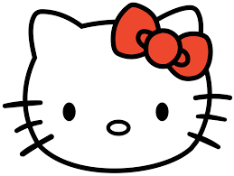 hello kitty bow svg template clipart best hello kitty clipart 66 cliparts