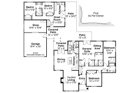 Ranch House Plans   Darrington     Associated DesignsRanch House Plan   Darrington     Floor Plan