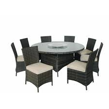 <b>9 Piece</b> Round Dining <b>Set</b> Patio & Garden Reviews - shop29071402