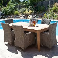 modern dining table teak classics: full size of outdoor outdoor rattan furniture with wood table and rattan chairs black classic