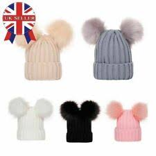 <b>Pom Pom Fur Hats for</b> Women <b>for</b> sale | eBay