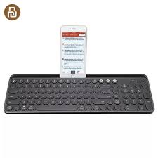 HOT Xiaomi <b>Miiiw MWBK01</b> Bluetooth Dual Mode Keyboard 104 ...