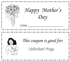 Sally's Coupons: Free Printable Mother's Day Coupon Book Templates Coupon Book 2 Preview