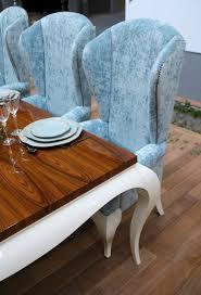 tall back dining chairs duck egg blue shimmer velvet high back tall grand dining chair