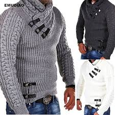 <b>Turtleneck Sweater</b> Men Long Sleeve Knitted Pullovers <b>2019</b> ...
