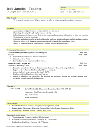 resume template  free elementary teacher resume templates free    resume template sample   director and teacher elementary level professional experience