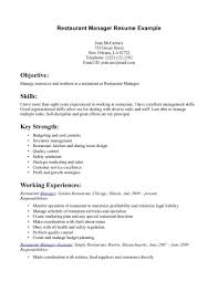 sample restaurant resume objective cipanewsletter cover letter objective for resume server objective for resume