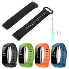 Wristwatch Silicone <b>Replacement Bracelet Strap Wrist</b> Band For ...