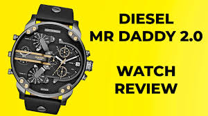 Watches For Real Men <b>Diesel</b> Mr Daddy 2.0 <b>DZ7348</b> - YouTube