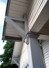 overhung rooflines are an indicator of the american craftsman style american craftsman style