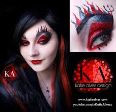 devil makeup with tutorial by katiealves