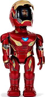 Купить Робот <b>UBTech Iron</b> Man Mk50, красный— цена, описание ...