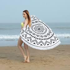 Supply Custom <b>round beach</b> towel <b>digital printed</b> bath towel super ...