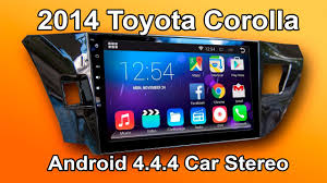 """2014 - 2016 Toyota Corolla <b>Android car stereo</b> review (10"""" Screen ..."""