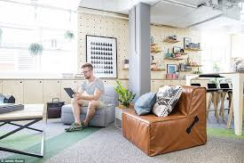 airbnbs rooms are all inspired by listings on the platform to showcase the vast diversity of airbnb office