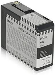 Epson T5808 UltraChrome K3 Matte Black Cartridge ... - Amazon.com