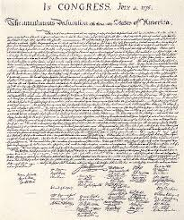 the declaration of independencethe declaration of independence was written by the founders of our nation  it is a special statement that explains why the colonists wanted to be