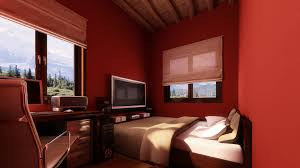 room paint red: small bedroom colors and designs with amazing red wall painting with red wall paint