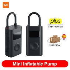<b>Original Xiaomi</b> Mini Inflatable Pump Air Compressor Tire <b>Portable</b> ...