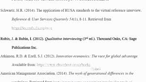 the apa references list the apa references list