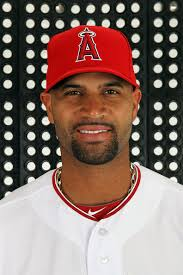 Albert Pujols #5 of the Los Angeles Angels poses during spring training photo day on February 29, 2012 at Tempe Diablo Stadium in Tempe, ... - Albert%2BPujols%2BLos%2BAngeles%2BAngels%2BPhoto%2BDay%2BnDRZSo0Hpjzl