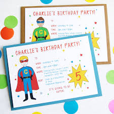 superhero personalised birthday party invitations by superfumi gallery photos of picture birthday party invitations printable