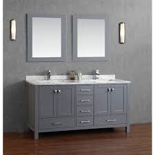 bathroom features gray shaker vanity: floating bathroom vanity carldrogo com excellent design bathroom