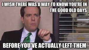 Andy Bernard quote from The Office series finale. So true...I miss ...