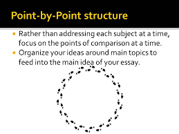 rubrics  mrs sears  th ac language arts a possible outline for our compare and contrast essay in a point by point format would be