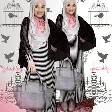 Model 1. Tips Baju Hijab saat Hamil