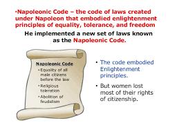 Resultado de imagen de napoleonic code